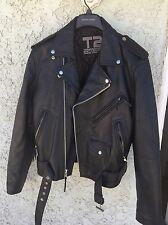 Terminator 2 3-D Battle Across Time Official Leather Motorcycle Biker Jacket