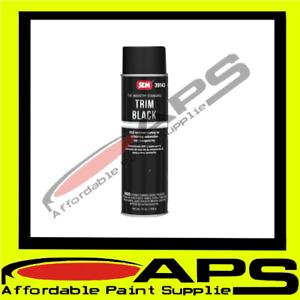 SEM Trim Black 600ML Aerosol Trim Paint OEM