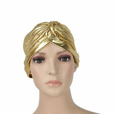 Polyester Turban Hats for Women