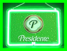Presidente Dominican Beer Hub Bar Display Advertising Neon Sign