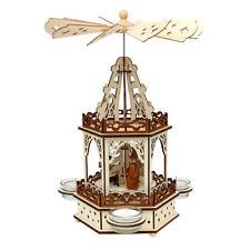Weihnachtspyramide für Teelichte Teelichtpyramide Weihnachtsdeko 52 1679