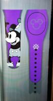 Disney STEAMBOAT WILLIE MICKEY PURPLE Magic Band 2 Magicband Link It Parks New