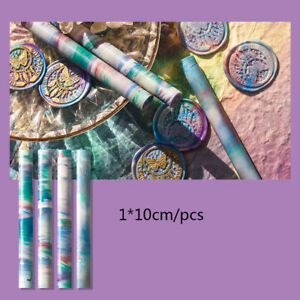 Lacquer Wax Strip Beads Sealing Kit for Stamp Wedding Envelope Invitation Card