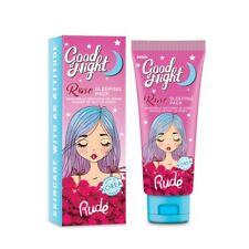 RUDE? Good Night Rose Sleeping Pack