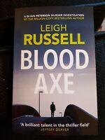 **NEW PB** Blood Axe by Leigh Russell (2019) - Special Offer buy 2 books SAVE