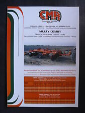 0006) CMA Kombilandmaschinen Bodenbearbeitung - Prospekt Brochure 90er-Jahre