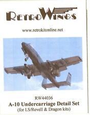 RetroKits Models 1/144 A-10 WARTHOG UNDERCARRIAGE DETAIL SET Resin Update Kit