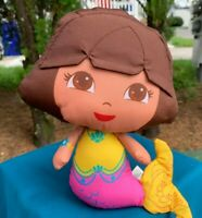 Fisher Price Bath Toy Dora The Explorer Splash Around Mermaid Nylon Stuffed Doll
