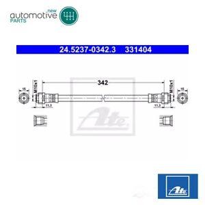 Rear Brake Hose 24.5237-0342.3 For MERCEDES-BENZ W168
