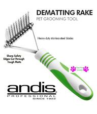ANDIS  DEMATTING RAKE Safety Blades Y Tool DOG CAT GROOMING Dematter De-Matting