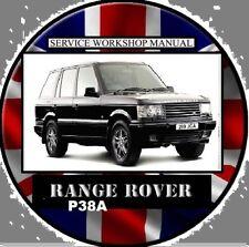 RANGE ROVER P38A series V8-TDI-1995-2002 Master Workshop Manual CD