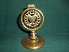 antique horse brass fly terret or swinger