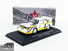 CMR - 1/43 - AUDI QUATTRO - WINNER SAN REMO 1985 - WRC007