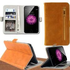 Flip Cover Stand Wallet Card Leather Case For Various BQ Aquaris Smartphones