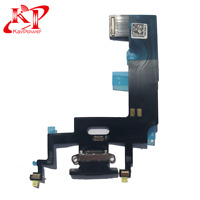 New OEM For iPhone XR Charging Port + Mic Audio Jack Flex Cable Charger Black