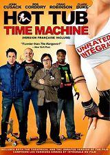 NEW DVD - HOT TUB TIME MACHINE - John Cusack, Rob Corddry, Craig Robinson, Clark