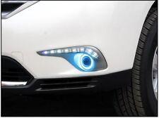 For Toyota Highlander 2012-2014 Fog Lights DRL+COB Lens Angel Eye Bumper Bezel k