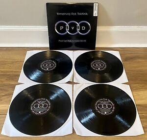 """Paul van Dyk Vorsprung Dyk Technic Remixes 92-98 LP x4 12"""" Vinyl DVNT33DJ 1998"""