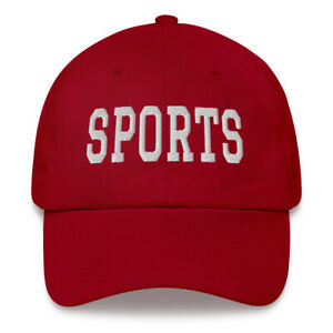 Norm Macdonald style SPORTS hat