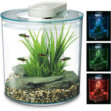 Marina 360 Aquarium LED Remote 4 Colours Fish Tank Filter Beginner Kids 10L Nano