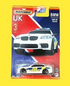 MATCHBOX UK SERIES BMW M5 POLICE 2021