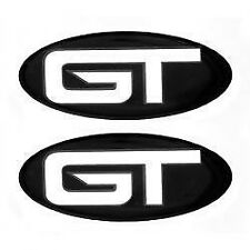"LARSON / GLASTRON 0572956 GT RAISED DECAL 3 5/8"" x 1 5/8 PAIR (2) MARINE BOAT"