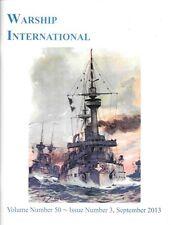 Warship International V50 N3 2013 German Navy SMS Kaiser Ironclads Dreadnoughts