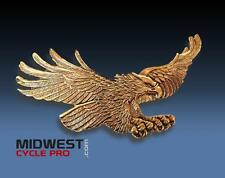 "Gold 6-1/4"" American Flying Eagle Emblem GL1800 GL1500 Goldwing  (15138-394)"