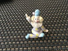 Small 13/4 inch ceramic figurine Clown from Thailand