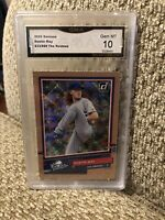Dustin May 633/999 The Rookies 2020 Donruss Graded 10 Los Angeles Dodgers