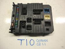 Citroen C2 1.1 BSI Fuse Box 96 637 983 80  , Used Part , T10