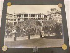 INGEGNERIA Palazzo in Costruzione Fotografia Anni '20 '30 ARCHITETTURA Cantiere