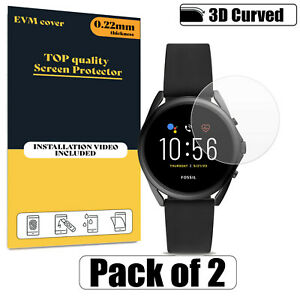 Screen Protector Cover For Fossil Gen 5 LTE Clear FILM