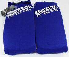 BOXEUR DES RUES Bxt-sg08 Schienbeinschutz Mit Fußschutz, XL, Blau