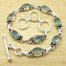 """8 1/8"""" Bracelet ! Exclusive APATITE Silver Plated Jewelry EVERYDAY WEAR NEW"""
