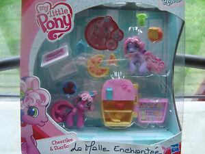 Schatulle Mon Petit Pony Ponyville Cherilee Mädchen + Zubehör Ref 92929