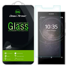 [3-Pack] Dmax Armor for Sony Xperia L2 Tempered Glass Screen Protector
