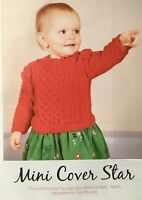 KNITTING PATTERN Baby Cable Design Jumper Textured Sweater Long Sleeve Sublime