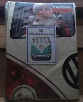 VW Branded Camper Van Duvet Cover Set/Single/Retro Split Screen/Christmas/New
