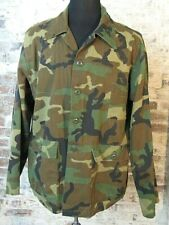 Vintage Ranger Camo Jacket Men's XL MADE IN USA Camouflage Army Hunting Canvas