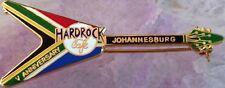Hard Rock Cafe JOHANNESBURG 1999 5th Anniversary PIN South Africa FLAG V GUITAR