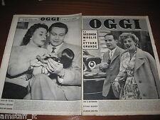 RIVISTA OGGI 1957/22=ETTORE GRANDE=JULA DE PALMA=CARLO LANZI=MAGA SAN BARONTO=