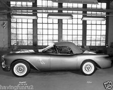 1954 Oldsmobile F-88 2 Seater Concept Car GM Plant  6-10-1954  5 x 7 Photograph