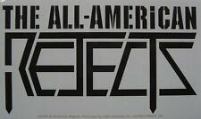 ALL AMERICAN REJECTS AUFKLEBER / STICKER # 2