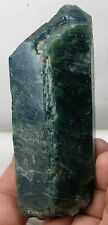 290g Brazil Natural Teminated Rough Raw Blue Apatite Crystal Specimen 10 1/4 oz