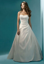 Tulle a line wedding dresses ebay satin a line wedding dresses junglespirit Images