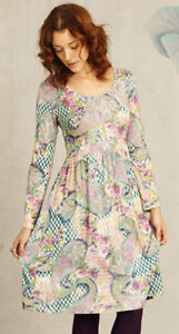 Braintree Oksana Patchwork Print Dress / Large Size / UK size 14
