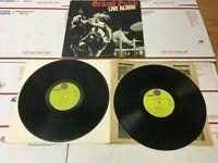 GRAND FUNK LIVE ALBUM Railroad Vinyl LP Capitol Records 1970 SWBB-633
