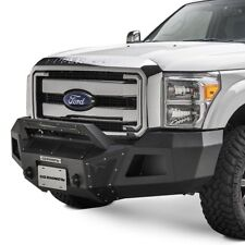 For Ford F-250 Super Duty 11-16 Bumper BR10 Replacement Full Width Black Front