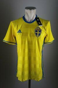 Schweden Trikot Gr.  S / XL / XXL / XXXL Neu Home Herren 2016 EM WM Sweden SvFF